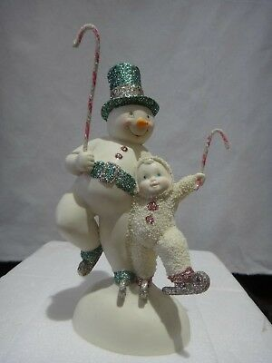 "Department 56 Snowbabies snowDream Collection ""Skater's Waltz"" Figurine 2012"