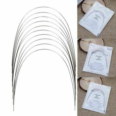 10 PCS Orthodontic Dental Super Elastic NITI ROUND Arch Wire Form Applied