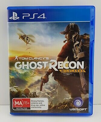 Tom Clancy's Ghost Recon Wildlands Ps4 Playstation 4 Game