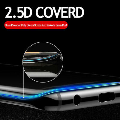 5D Full Liquid Glue UV Curved Tempered Glass Film For Samsung Galaxy S10 S9 Plus