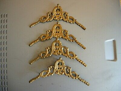 Antique Tall Case Grandfather Clock DIAL DECORS for PARTS Restore Gustav Becker