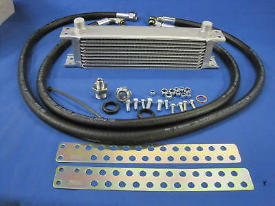 Mg Midget 1275 Oil Cooler Hose Kit & 10 Row Oil Cooler Austin Sprite Rubber L1B