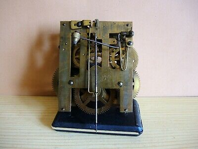 ANTIQUE German Wall Clock MOVEMENT JUNGHANS PARTS Restore Gustav Becker  MAUTHE