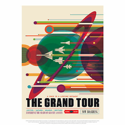 The Grand Tour NASA Space Tours Travel Huge Wall Art Poster Print