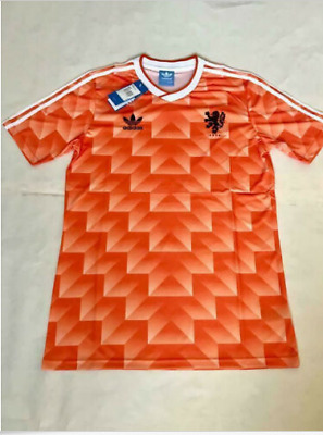 1988 Netherlands Home Retro Football Soccer Shirt Jersey Vintage Classic Holland