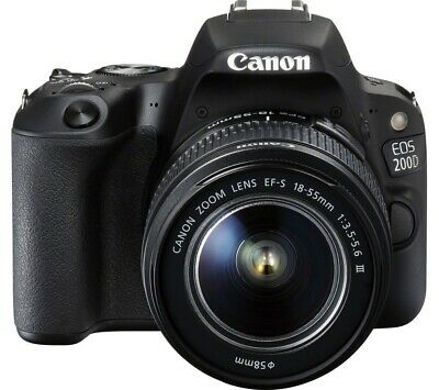 Canon EOS 200D + 18-55mm DC III