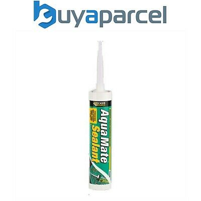 Everbuild Aqua Mate Aquarium Fish Tank Sealant C3 Size Cartridge