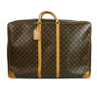 LOUIS VUITTON Sirius 70 Monogram Canvas & Leather suitcase - soft luggage travel