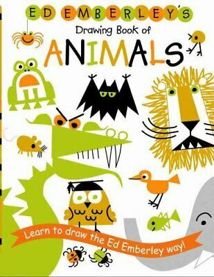 Ed Emberley's Drawing Book Of Animals by Ed Emberley 9780316789790 | Brand New