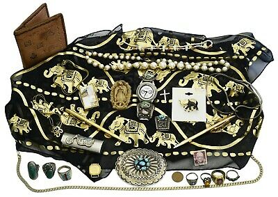 Assortment of Jewelry and Collectibles