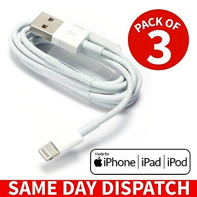 For Apple iPhone 6 7 8 Plus 5 5s SE Cable USB Lightning Charger Data Sync Lead