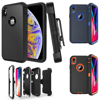For Apple iPhone XR Xs Max X / XS Case Belt Clip | Fits Otterbox Defender Series