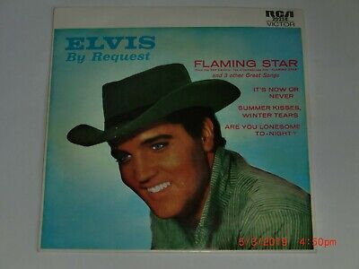 Elvis Presley. Elvis By Request. Rca Victor 20258 (Brilliant Ep)