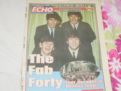 Liverpool Echo Fab Forty Four Decades Of Beatles Magic Monday Aug 21 2000