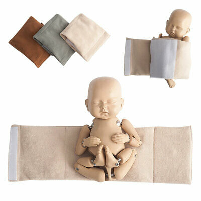 Newborn Baby Soft Posing Wrap Cocoon Swaddle Photo Photography Prop Infants