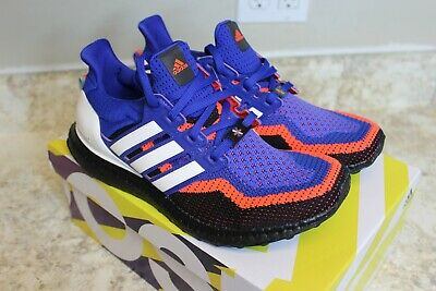 ADIDAS ULTRA BOOST 2.0 Men's Knicks Asterisk Royal Cloud White Red EF2901 NEW