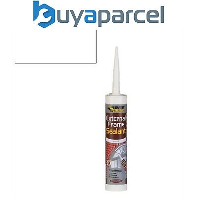 Everbuild External Frame Sealant White C3 Size Cartridge