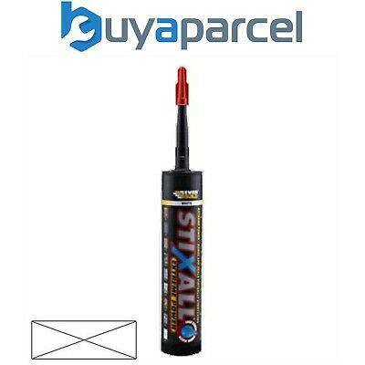 Everbuild Stixall Sealant and Adhesive Clear 300ml Size Cartridge