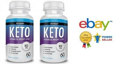2X Keto Pure Diet 120 Capsules Advanced Weight Loss - Fast Delivery