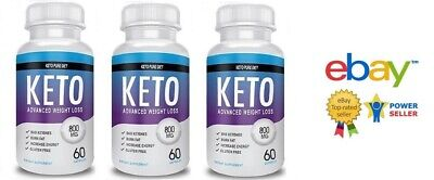 3X Keto Pure Diet 180 Capsules Advanced Weight Loss - Fast Delivery