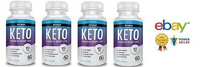 4X Keto Pure Diet 240 Capsules Advanced Weight Loss - Free Shipping Worldwide