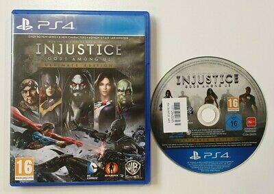 Injustice Gods Among Us Ultimate Edition Sony Playstation 4 Ps4 Game