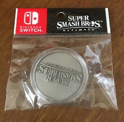 Super Smash Bros Ultimate Nintendo Switch Limited Edition Coin New