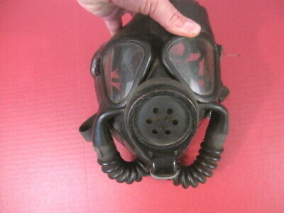 WWII US Navy USN ND Mark IV Gas Mask - Dated 1944 - RARE #3