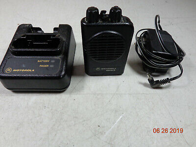 Motorola Minitor IV VHF Stored Voice Pager 151-159 MHz 2 Channel A03KUS9238BC