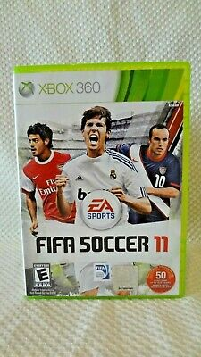 Xbox 360 Ea Sports Fifa Soccer 11 Video Game - Complete - Tested!