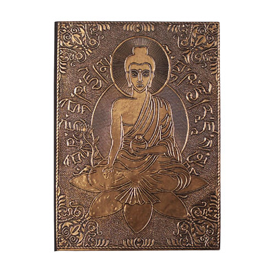 Buddha Copper Plated Journal