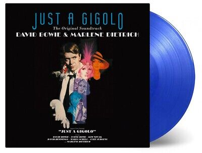 David Bowie And Marlene Dietrich Just A Gigolo Soundtrack Blue Coloured Vinyl LP