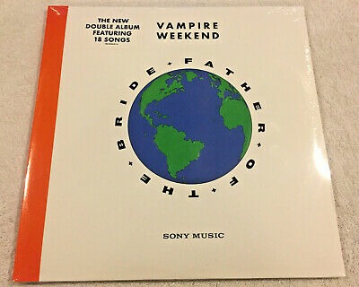 """VAMPIRE WEEKEND: """"Father Of The Bride"""":2019 NEW 2 LP SET-GATEFOLD COVER-18 SONGS"""