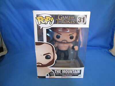 Funko Pop! The Mountain #31 Game Of Thrones VAULTED ! Retired