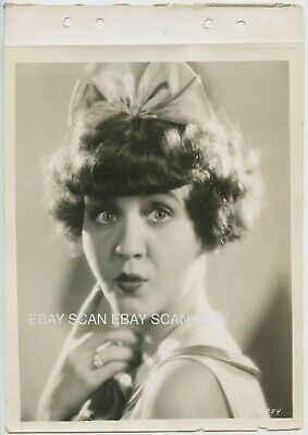 Helen Kane Betty Boop Vintage Linen Back Keybook Portrait Paramount on Parade