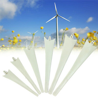 500-900mm Wind Turbine Generator Nylon Fiber Blades Windmill Power Charger Blade