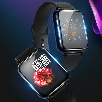 Sport Waterproof Smart Watch - Heart Rate Blood Pressure Monitor for iOS/Android