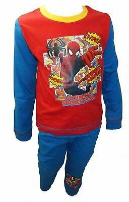 Spiderman Spider Power Boy's Pyjamas 18 Months-5 Years Available