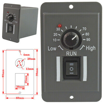 12V 24V 36 48V PWM DC Motor Control Speed Controller Reversible Switch Regulator