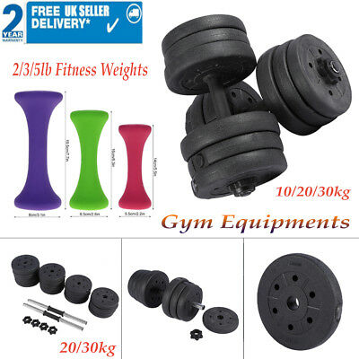 10/20/30KG Optional Dumbbell Weight Set HomeGym 2/3/5lb Fitness Weights Exercise