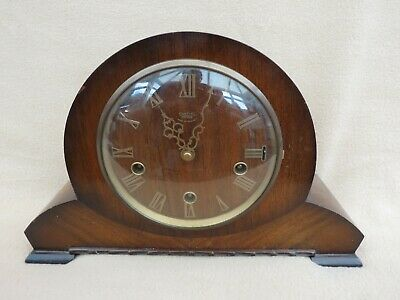 "Vintage Smiths Enfield ""Roper"" Westminster Chime Mantel Clock"