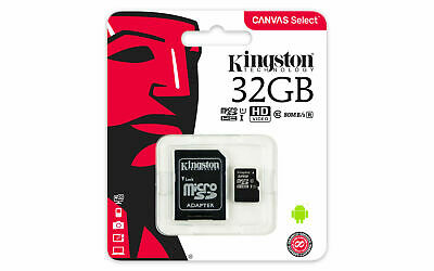 Kingston Micro 32Gb Karte Speicherkarte Class 10 Sdhc Microsd Sdxc Sd Adapter