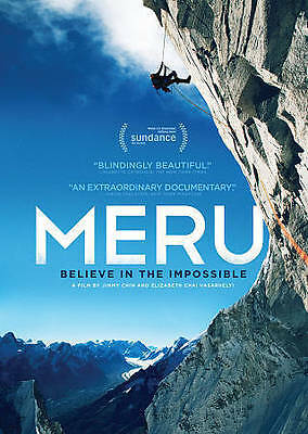 MERU: Believe in the Impossible DVD NEW/Sealed *rock climbing*