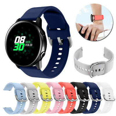 Sport Strap For Samsung Galaxy Active Watch Band Silicone Bracelet Wrist Band