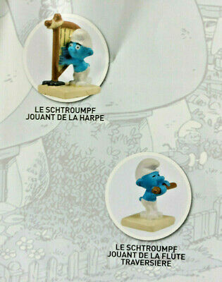 Schtroumpf Jouant Du Piano N° 49 Neuf figurine village collection