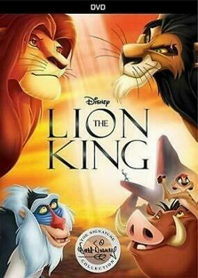 The Lion King (DVD, 2017) Disney Signature Collection New Free SAME Day Ship
