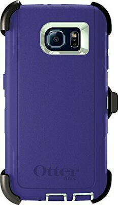 Otterbox Defender Series Case for Samsung Galaxy S6,Green/Liberty Purple
