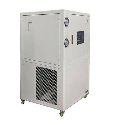 2 TON AIR COOLED CHILLER, Industrial Water Chiller, Portable 220V/1Ph, HBC-2