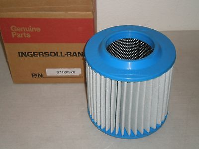 New! Genuine Ingersoll-Rand Compressor 37126976 Air Filter Element