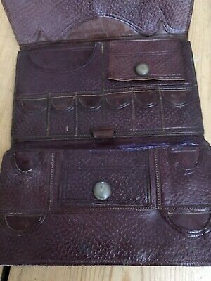 1920s Gentlemans Fitted Leather Wallet